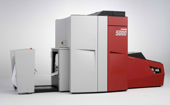 Xeikon 5000 - web feed digital printer